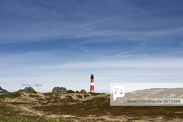 Hörnumer Leuchtturm  Sylt  Deutschland