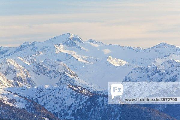 Blick aus dem Tennengebirge zu den Hohen Tauern  Österreich Blick aus dem Tennengebirge zu den Hohen Tauern, Österreich