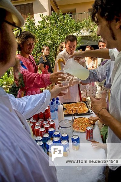 ´Cossiers´ dance festival  Alaro  Majorca  Balearic Islands  Spain