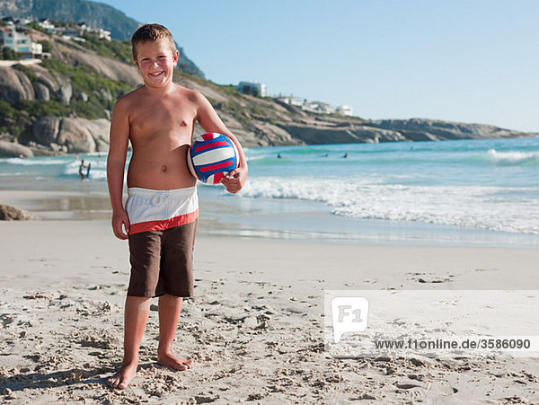 Strand Junge - Person Ball Spielzeug