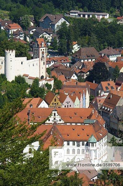 Füssen  Bayern  Deutschland  Europa