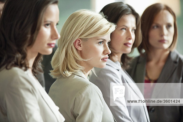 Businesswomen standing together