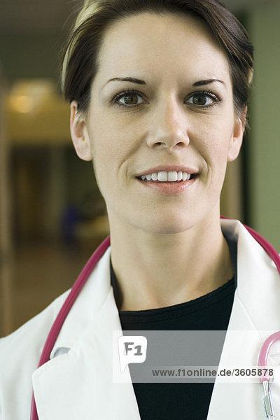 Ärztin  Portrait