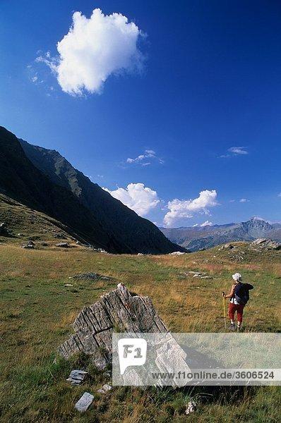 Alpen - Europe - 05 Hautes Alpes - Frankreich - Queyras - L_Echalp - PACA - 05 Hautes-Alpes - Parc Naturel regionale du Queyras
