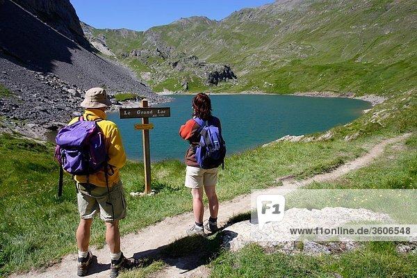 Alpen - Europa - 05 - Frankreich - Hautes Alpes PACA - Grand Lake - Vallee De La Guisane - 05 Hautes-Alpes