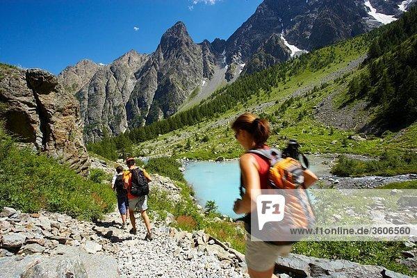Alpen - Europa - 05 - Frankreich - Hautes Alpes PACA - Vallee De La Guisane - 05 Hautes-Alpes - Lac De La Douche