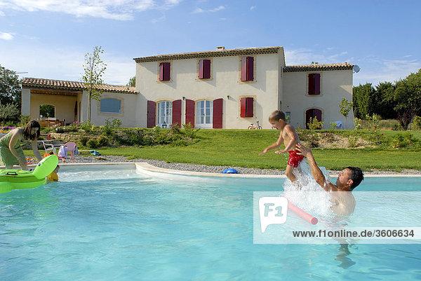 Frankreich Europa Provence - Alpes-Cote d Azur Bouches-du-Rhone Rhone