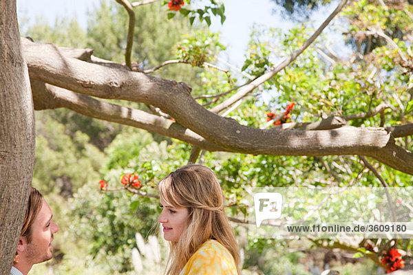 Baum jung