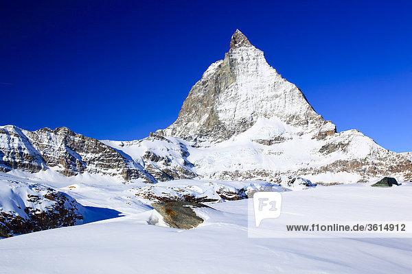 Matterhorn - 4478 m  Zermatt  Wallis  Schweiz