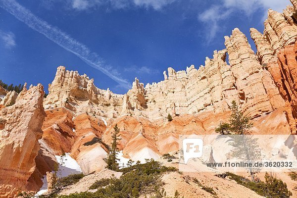 Felsformation im Bryce Canyon Nationalpark  Utah  USA