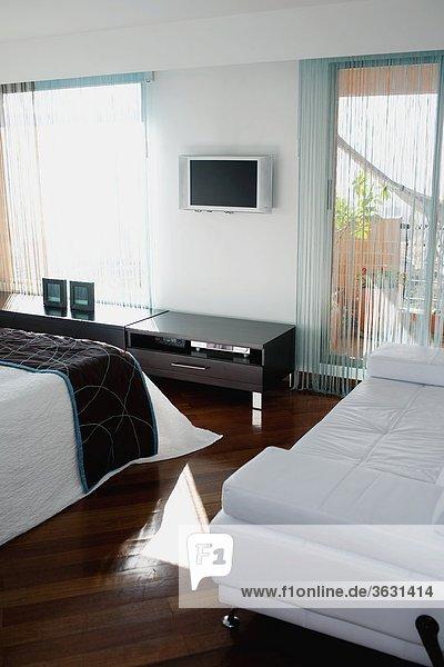 Schlafzimmer Innenaufnahme