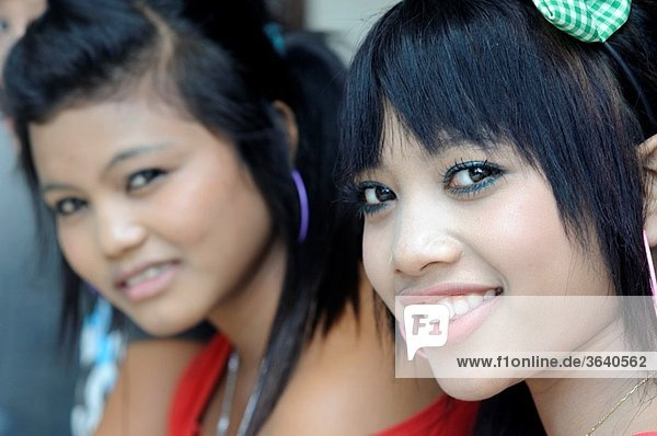 girls in Poppies 1  Kuta  Bali  Indonesia