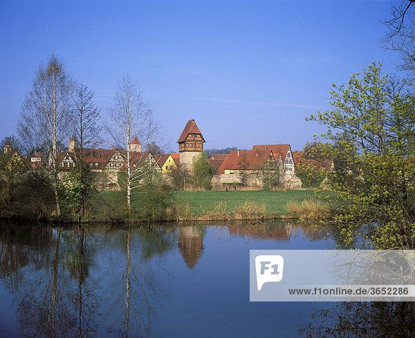Dinkelsbühl  Mittelfranken  Franken  Bayern  Deutschland  Europa