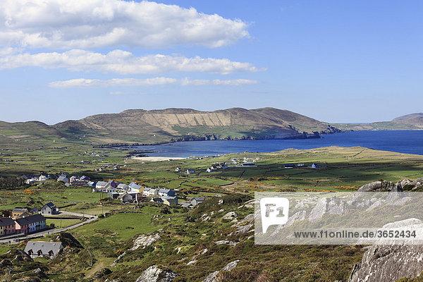 Allihies  Ballydonogan Bay  Küstenlandschaft  Beara-Halbinsel  County Cork  Irland  Britische Inseln  Europa