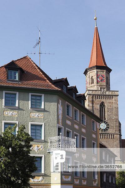 Michaeliskirche  Fürth  Mittelfranken  Franken  Bayern  Deutschland  Europa