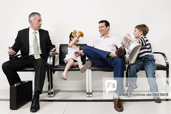 Patientin warten Krankenhaus
