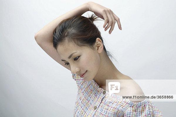 Portrait einer jungen Asiatin