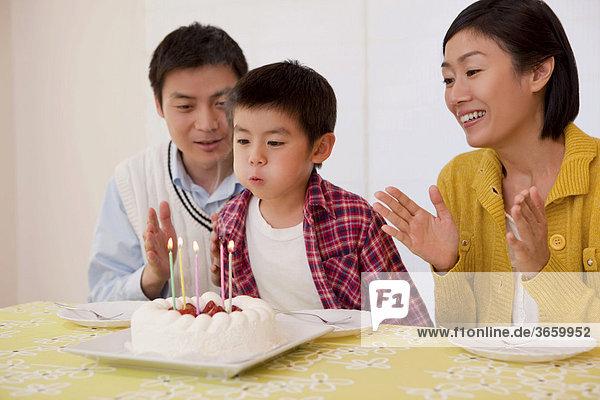 Familie  Geburtstagsfeier