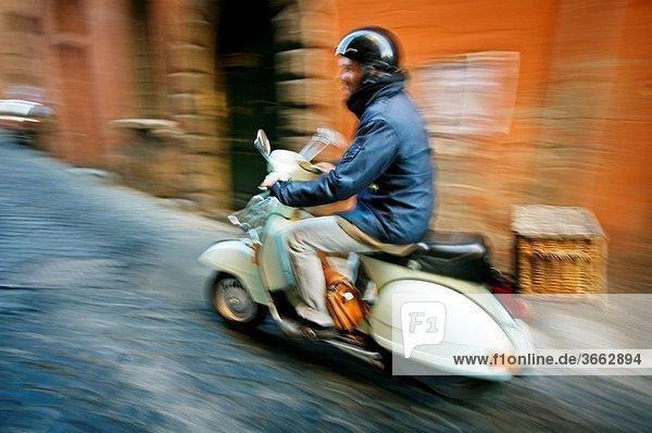 Trastevere. Rome. Lazio. Italy.