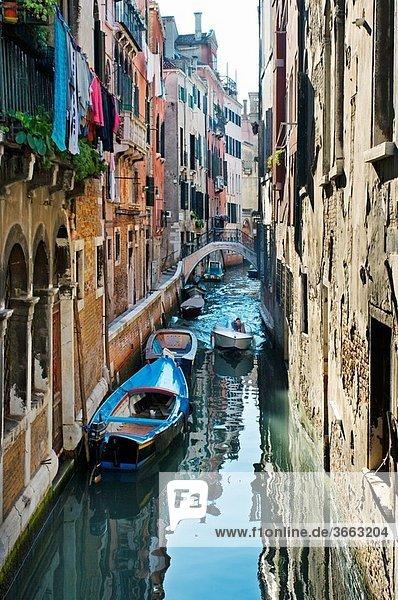 Canal. Venice. Veneto. Italy.