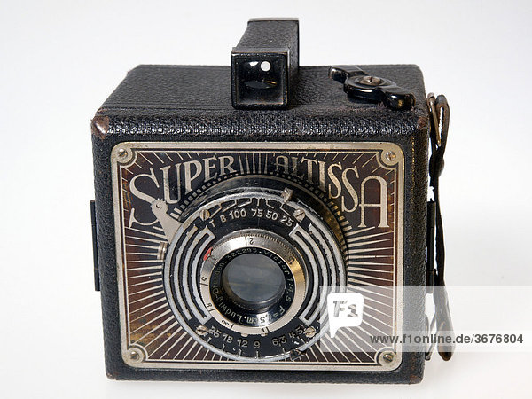 Alte Rollfilmkamera Super Altissa