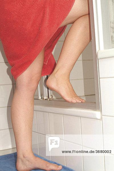 Beine fußpflege