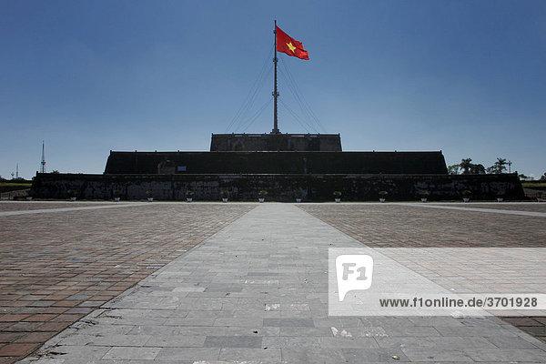 Die Zitadelle von Hue  Vietnam  Südostasien