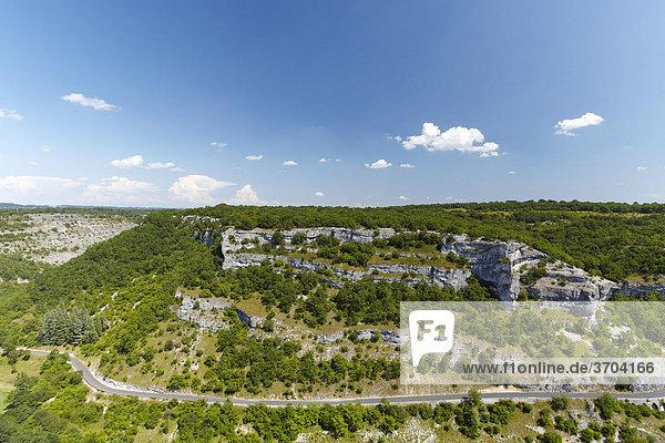 Bei Rocamadour  Lot  Midi-PyrÈnÈes  Südfrankreich  Frankreich  Europa