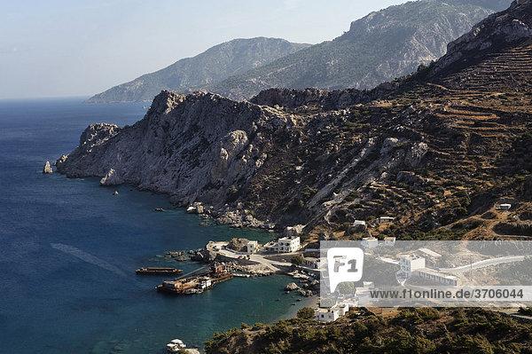 Agios Nikolaos bei Spoa  Insel Karpathos  Ägäische Inseln  Ägäis  Dodekanes  Griechenland  Europa