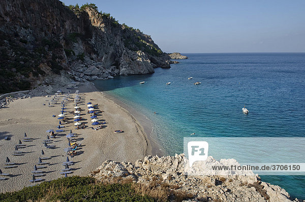 Strand Kira Panagia  Insel Karpathos  Ägäische Inseln  Ägäis  Dodekanes  Griechenland  Europa