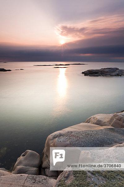 Schärenküste in Sotenäs  Schweden