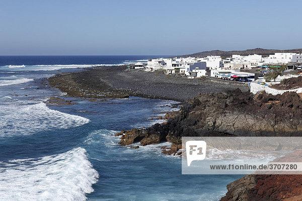 El Golfo  Lanzarote  Kanaren  Kanarische Inseln  Spanien  Europa
