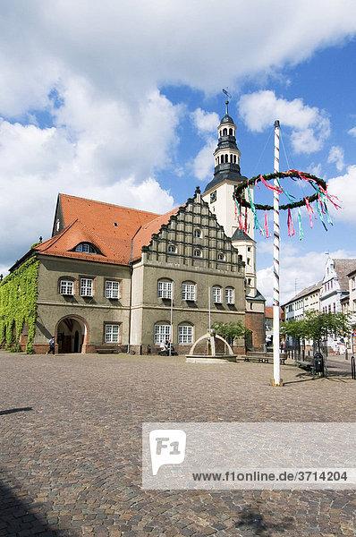 Gardeleggen Altmark Sachsen-Anhalt Deutschland Rathaus