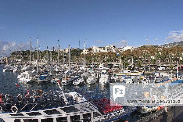 Yachthafen in Funchal - Marina - Madeira