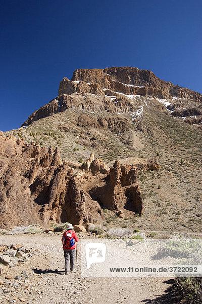 Nationalpark Canadas del Teide mit Montana de Guajara Teneriffa Kanaren