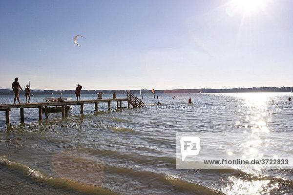 Starnberger See in Buchscharn ( Ambach ) - Oberbayern ibxmsi00038983 ...