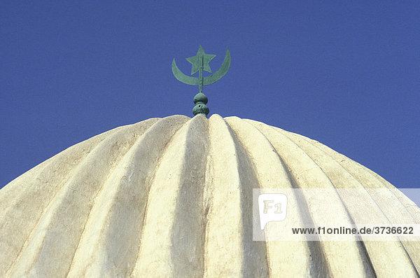 Dach  Moschee in Sousse  Tunesien  Afrika