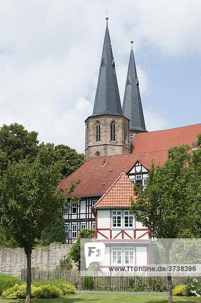 St.-Cyriakus-Propsteikirche  Duderstadt  Niedersachsen  Deutschland