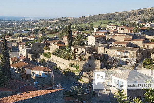 Mountain village  Tochni  Cyprus
