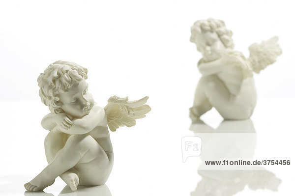 Sitting angels