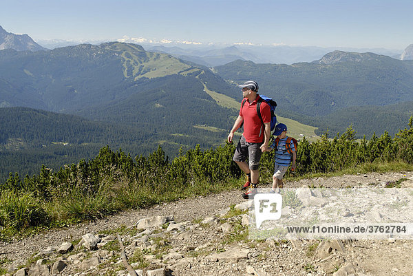At the Duerrnbachhorn Winklmoosalm near Reit im Winkl Chiemgau Upper Bavaria Germany