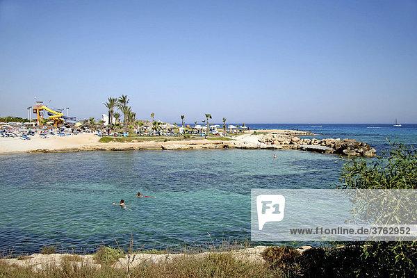 Agia Napa  Nissi Beach  Strand  Zypern  Europa