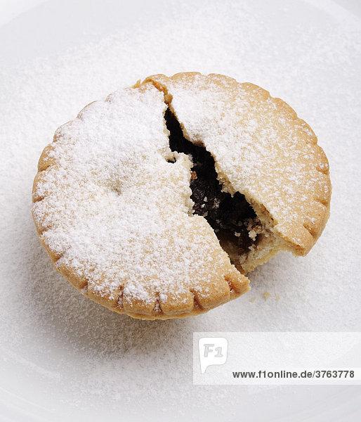 Mince Pie  Traditionelles Weihnachtsgebäck