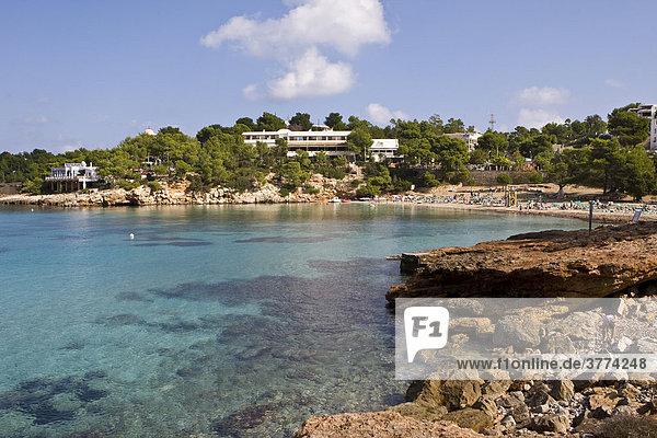 Coast of Portinatx  Ibiza  Baleares  Spain