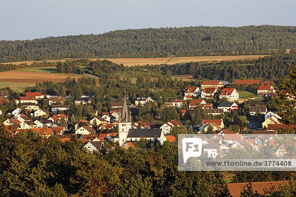 Salz  Rhön-Grabfeld  Unterfranken  Bayern