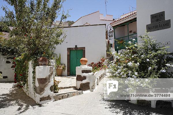 Tejeda  Rincon de Nestor Alamo  Gran Canaria  Spain