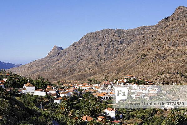 Fataga  Gran Canaria  Spain