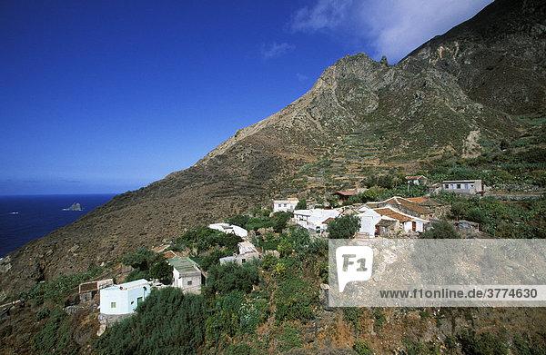 Anaga-Gebirge El Draguillo  Teneriffa  Kanarische Inseln  Spanien