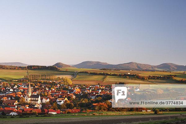 Rasdorf  Rhoen  Hesse  Germany