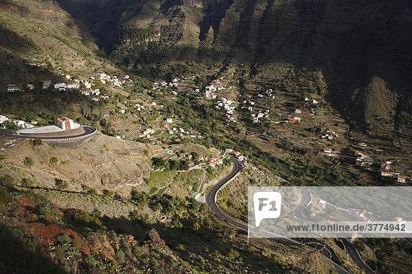 Valle Gran Rey  La Gomera  Kanaren  Spanien